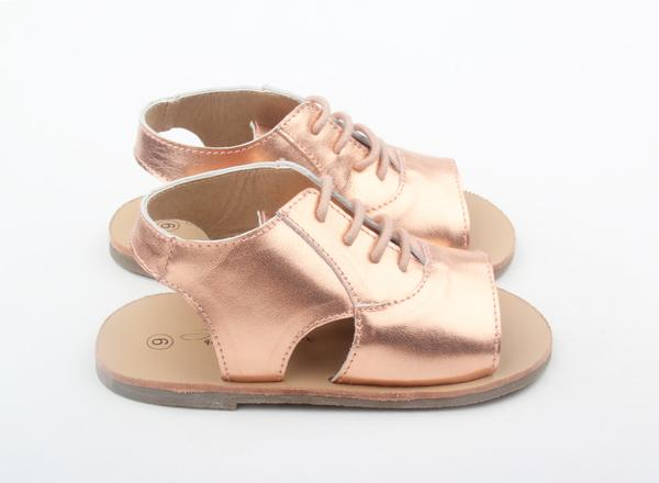 Anchor & Fox Florence Sandal Rose Gold