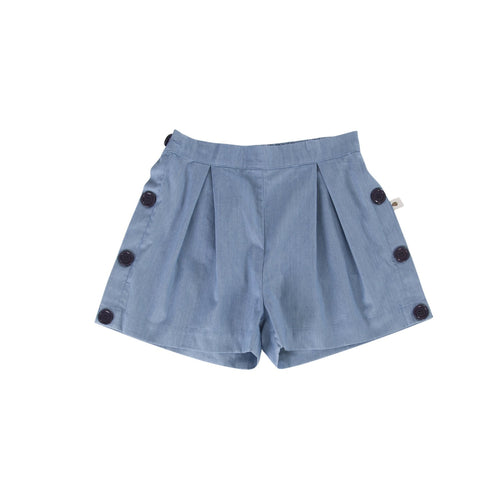 Peggy Ocean Shorts Chambray