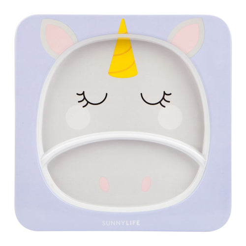SunnyLife Kids Plate Unicorn