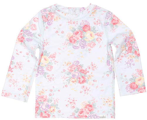 Toshi Swim Rashie Long Sleeve Celeste