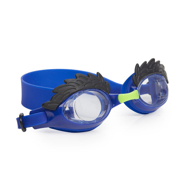 Bling2o Uncle Hairy Eyebrow Swim Goggles Blue