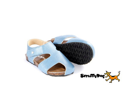 Scruffy Dog Buddy Sandals Denim