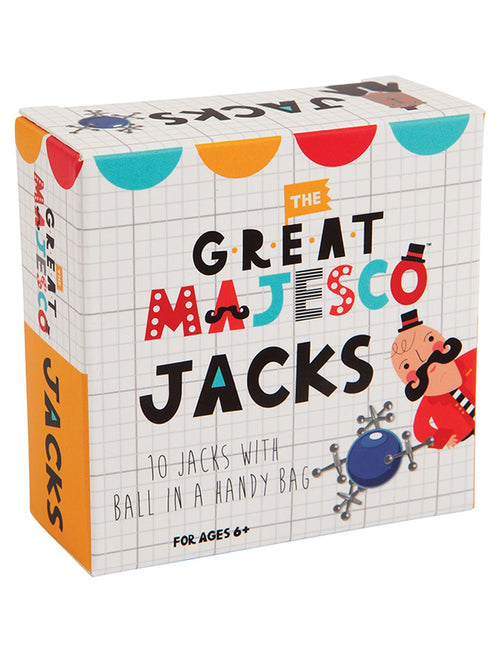 The Great Majesco Traditional Jacks Game