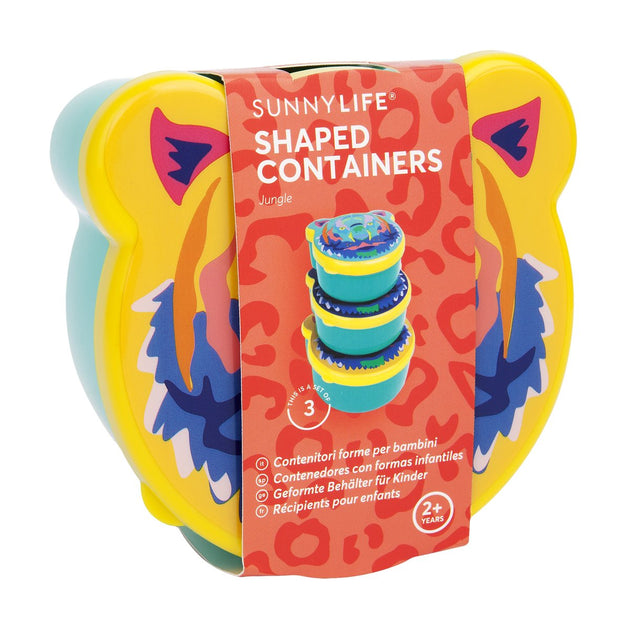 SunnyLife Kids Shaped Containers Jungle