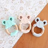 Jellies Koala Silicone Teether Blush