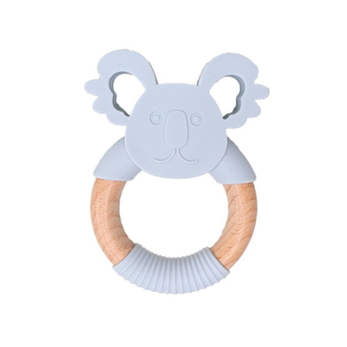 Jellies Koala Silicone Teether Soft Grey