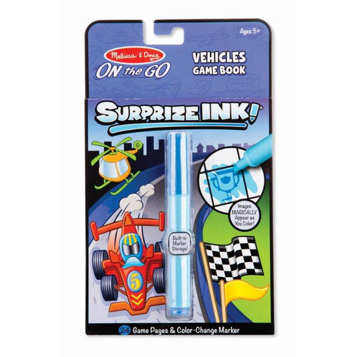 Melissa & Doug On the Go Surprize Ink Vehicles