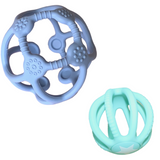Sensory Ball & Fidget Ball Set - Soft Blue & Soft Mint