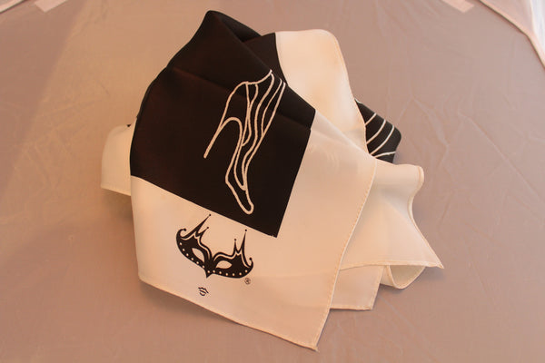 MM The Lovers Silk Scarf