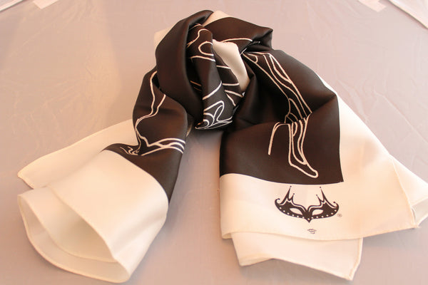 Aquarius Silk Scarf