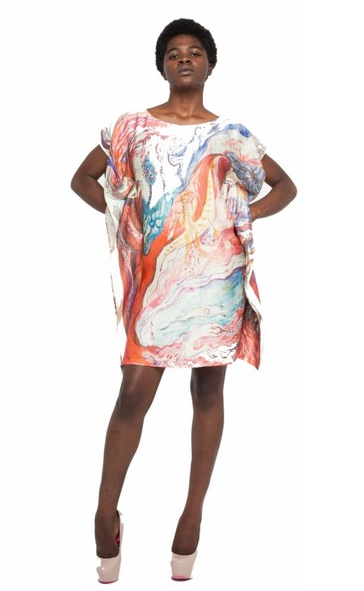 Inner Thoughts Silk Tunic