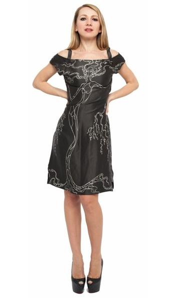 Virgo Silk Dress