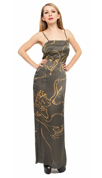 La Familia Silk Dress