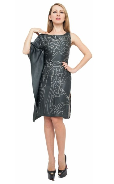 Aries Silk Dress