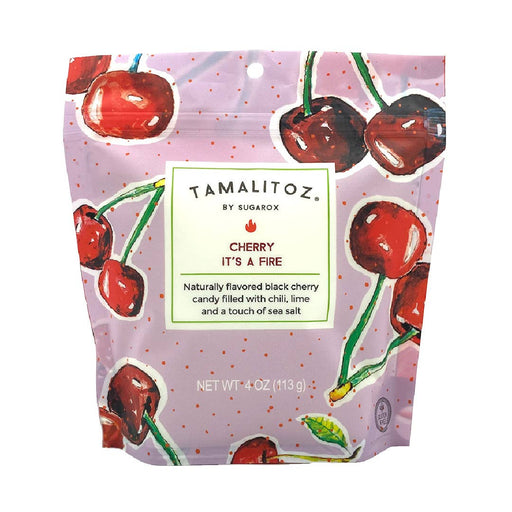 CHERRY IT'S A FIRE TAMALITOZ CANDY 12 CT - The Tamale Company