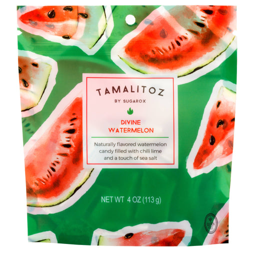 DIVINE WATERMELON TAMALITOZ CANDY 12 CT - The Tamale Company
