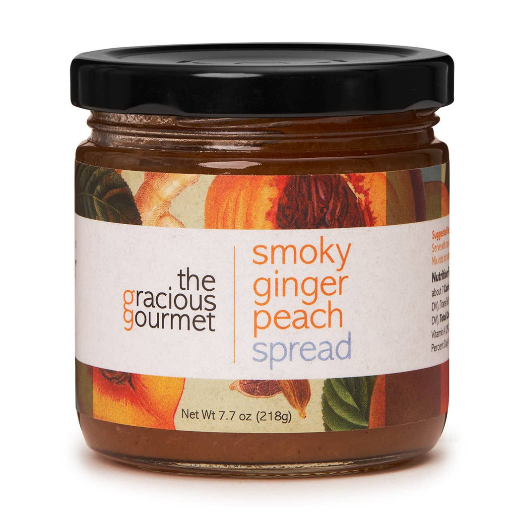 Smoky Ginger Peach Spread - The Tamale Company