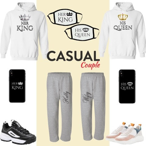 casual couple outfit