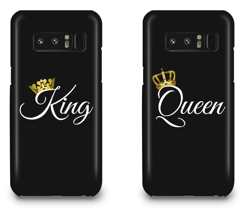 King and Queen - Couple Matching Phone Cases