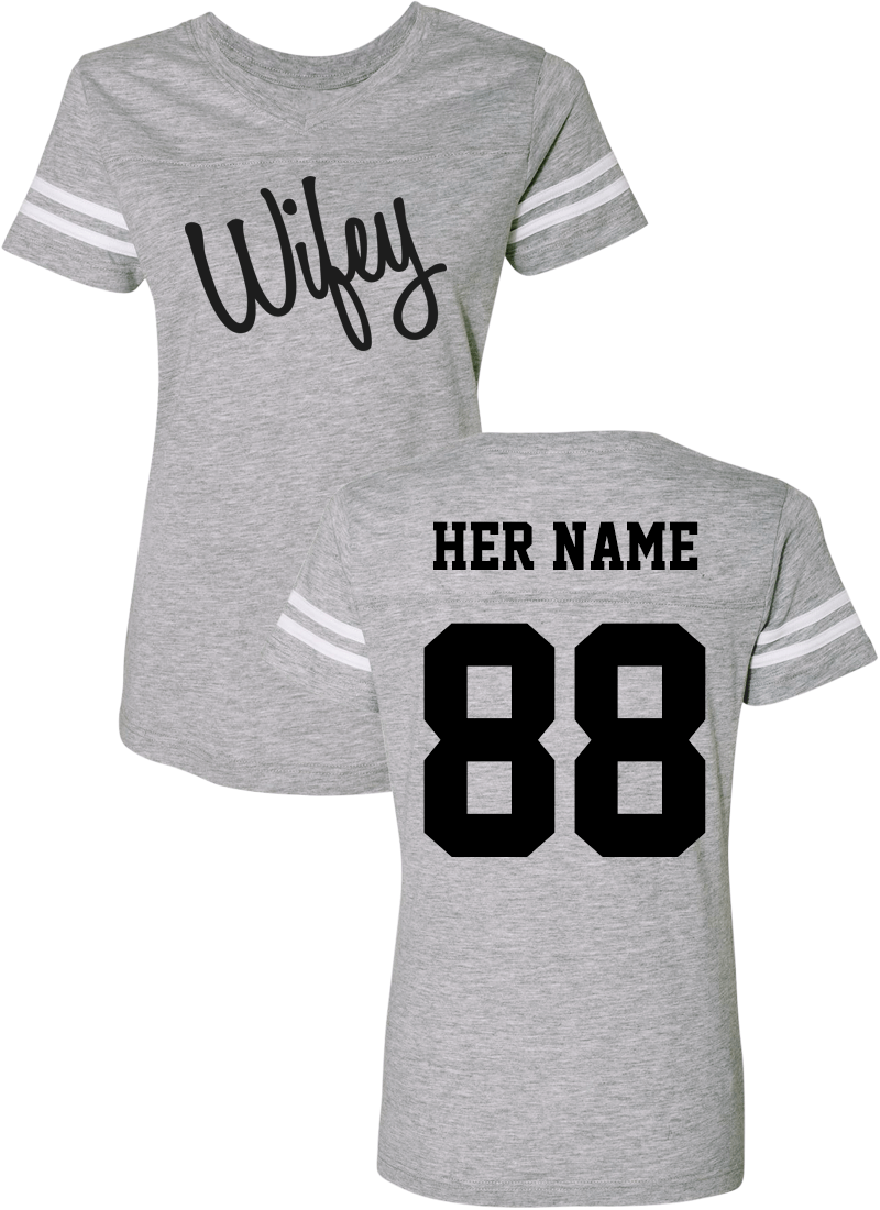 Hubby & Wifey - Couple Cotton Jerseys