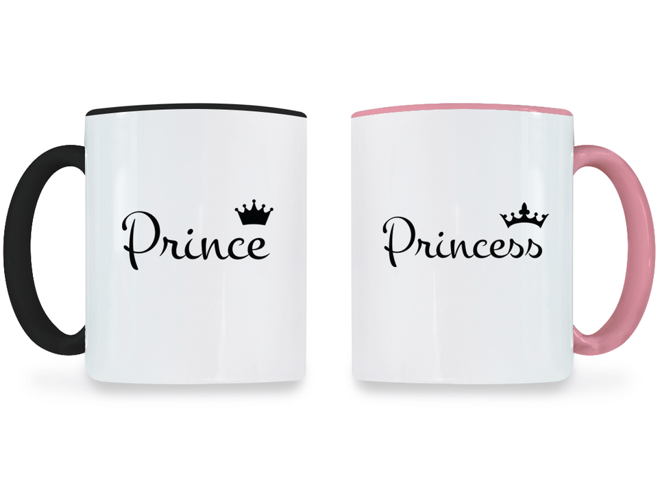 Prince and Princess - Couple Coffee Mugs