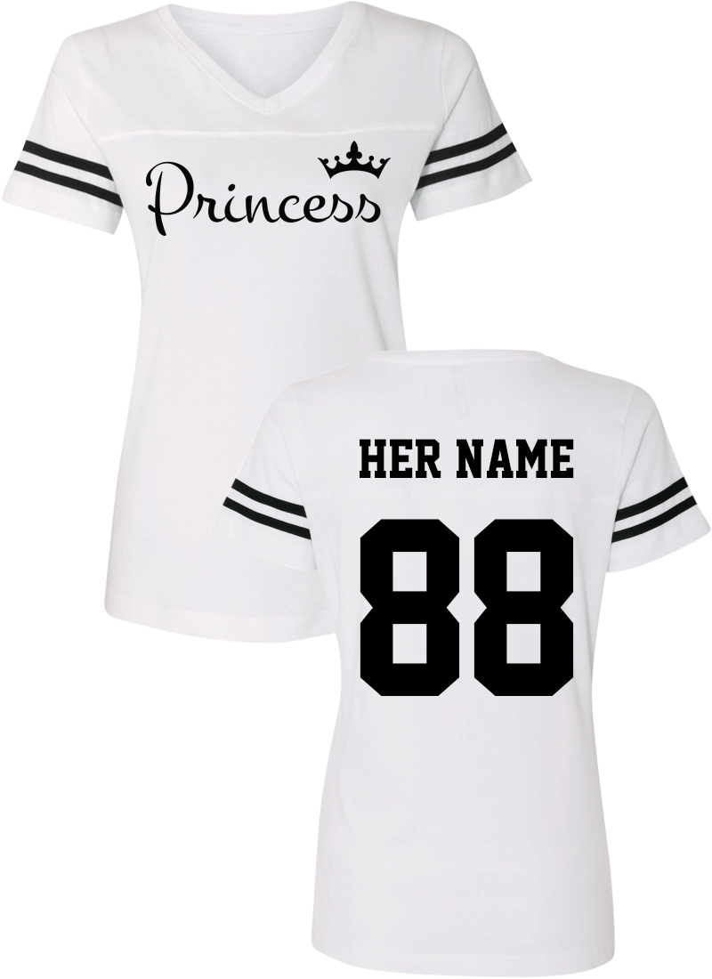Prince & Princess - Couple Cotton Jerseys