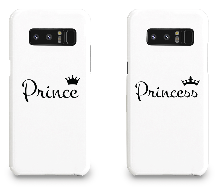 Prince and Princess - Couple Matching Phone Cases