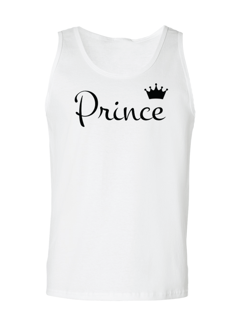 Prince & Princess - Couple Tank Tops