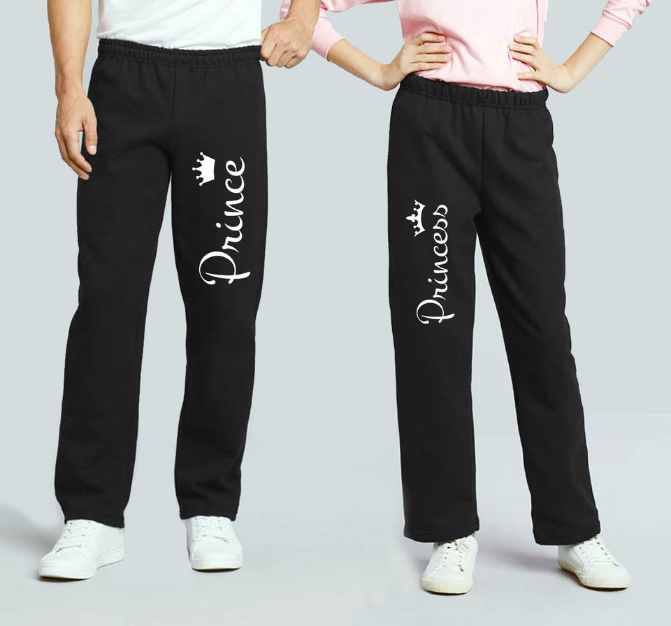 Prince & Princess - Couple Matching Sweatpants