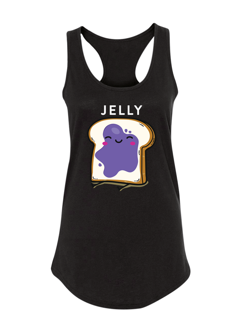Peanut Butter & Jelly - Couple Shirt & Racerback