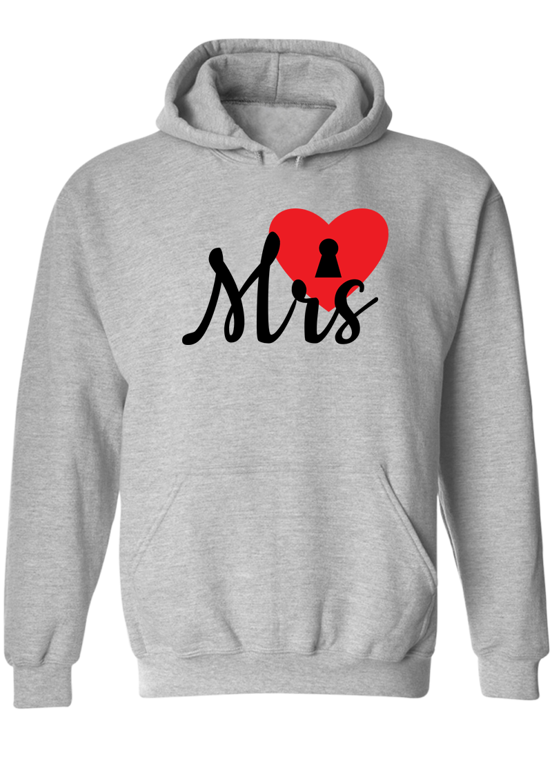 Mr. & Mrs. - Couple Hoodies