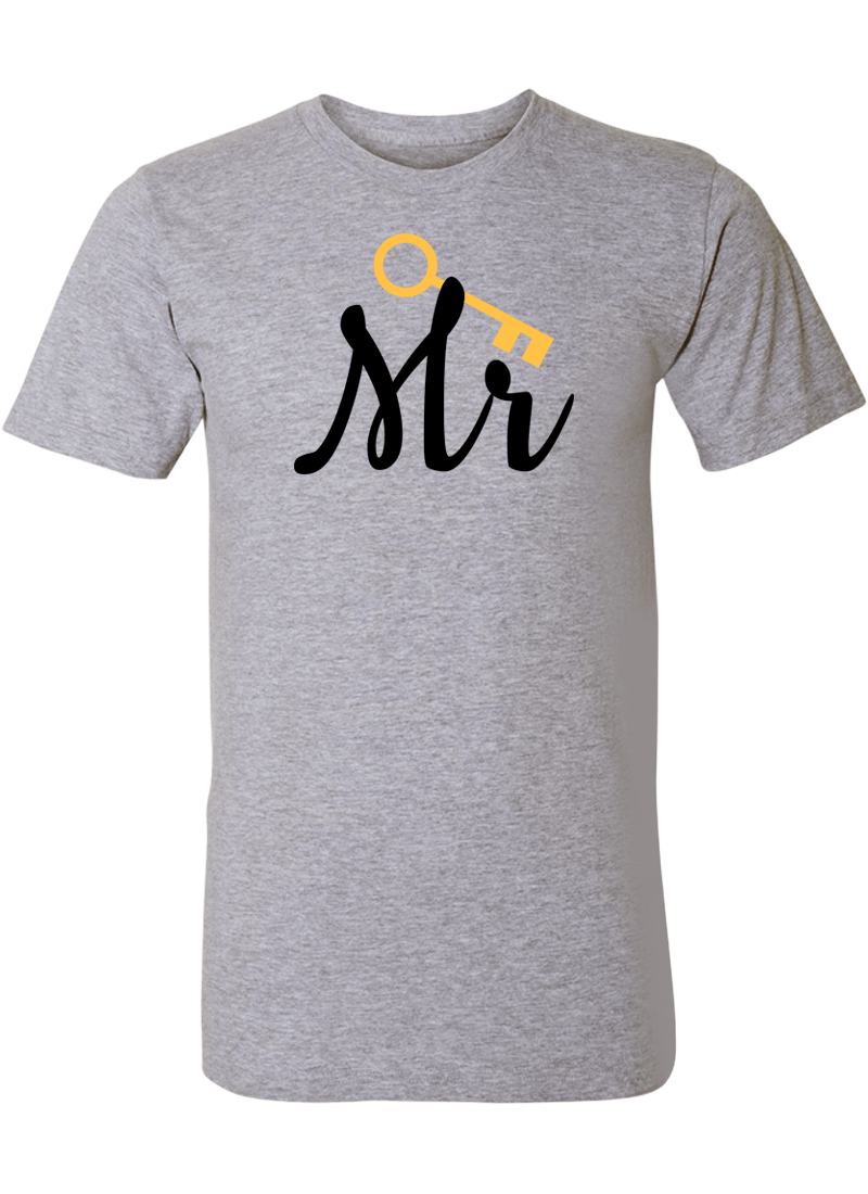 Mr. & Mrs. - Couple Shirt & Racerback