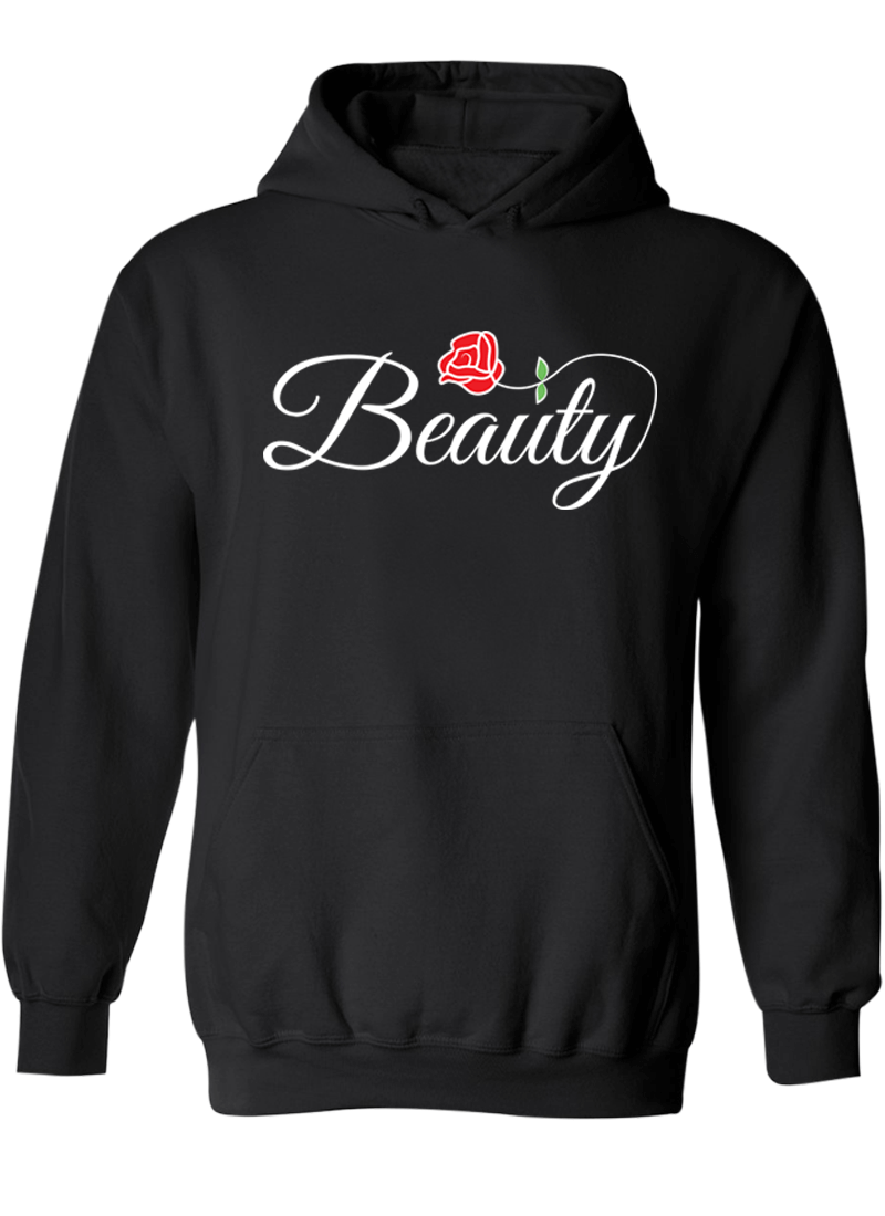 Beast & Beauty - Couple Hoodies