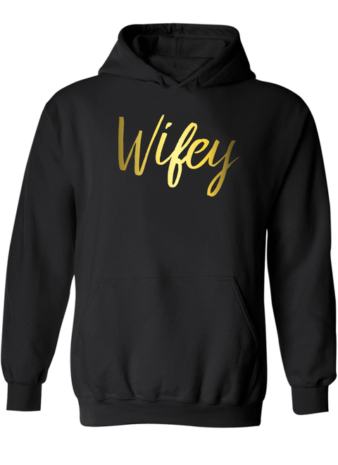 Hubby & Wifey - Couple Hoodies