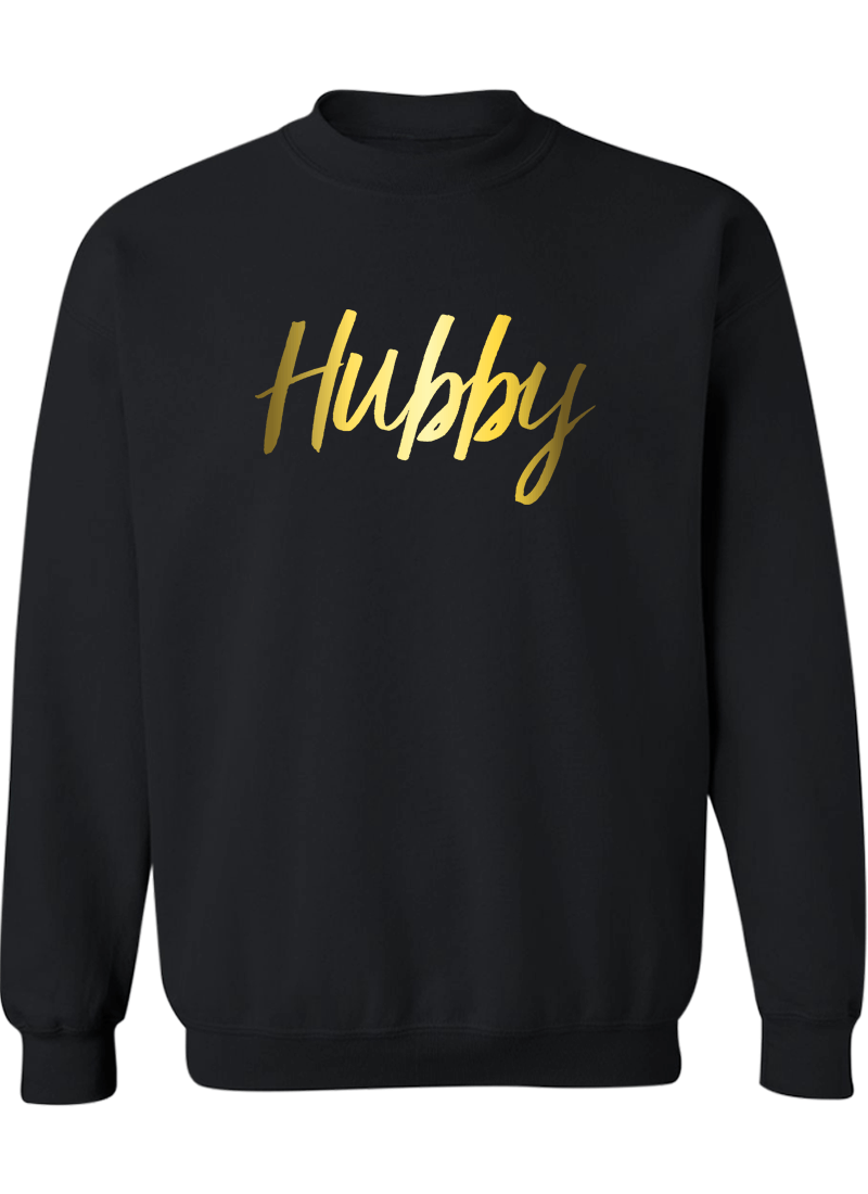 Hubby & Wifey - Couple Sweatshirts