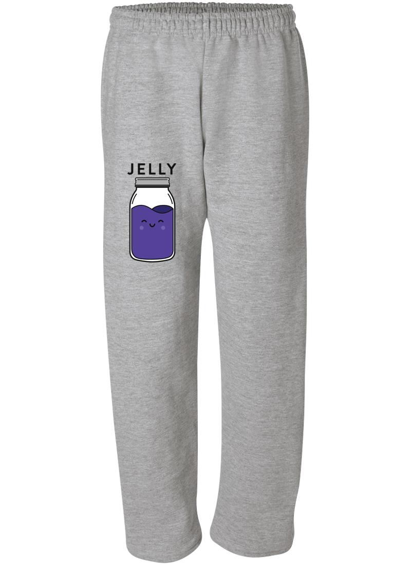 Peanut Butter & Jelly - Couple Matching Sweatpants