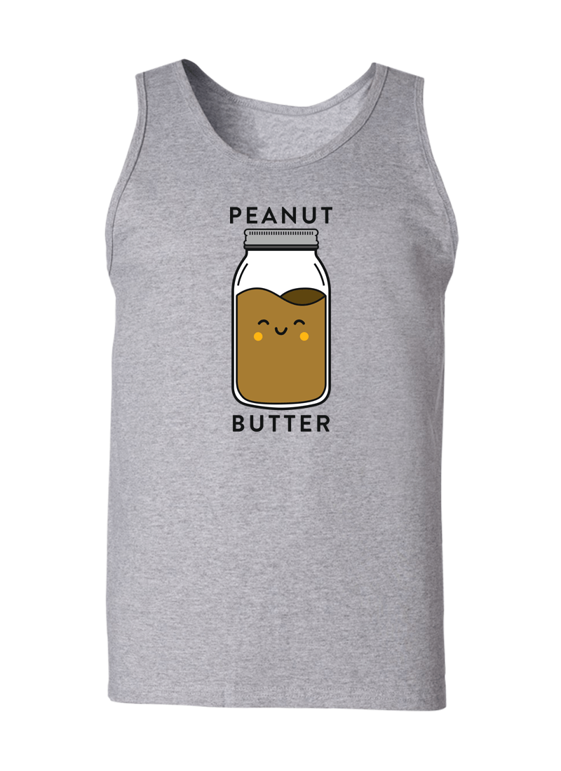 Peanut Butter & Jelly - Couple Tank Tops