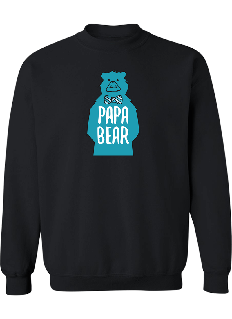 Mama Bear & Papa Bear - Couple Sweatshirts
