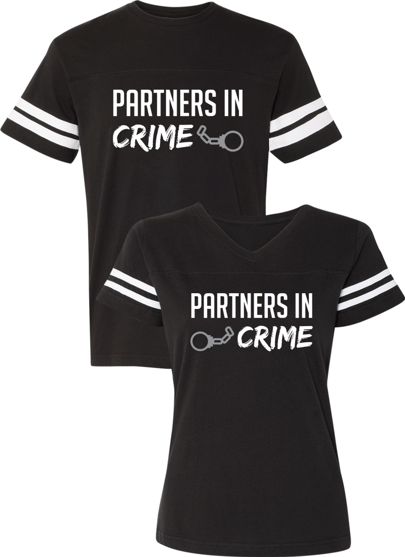 Partners in Crime Couple Sports Jersey