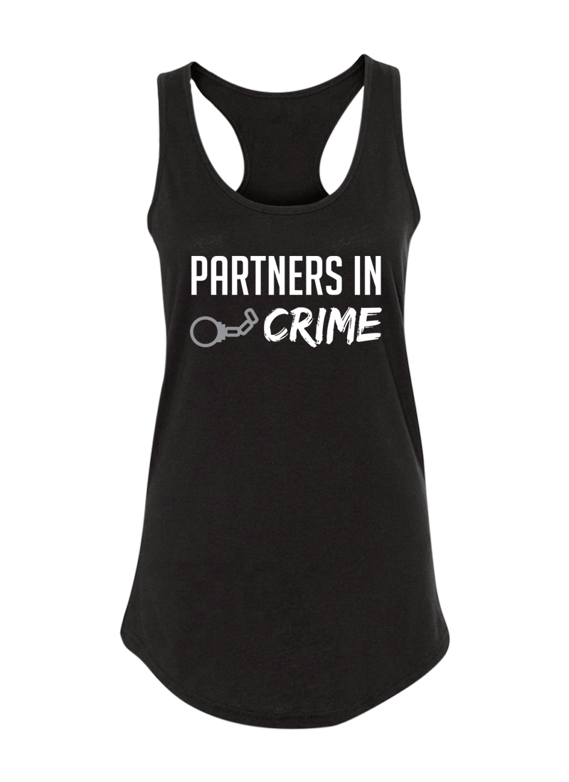 Partners in Crime - Couple Shirt & Racerback