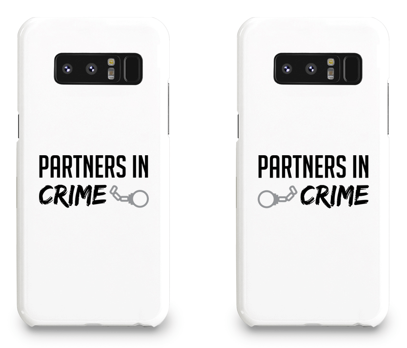 Partners in Crime - Couple Matching Phone Cases