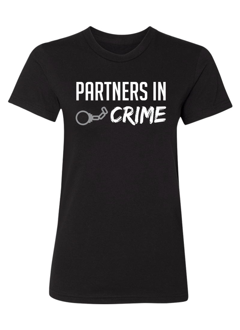 Partners in Crime - Couple Shirts