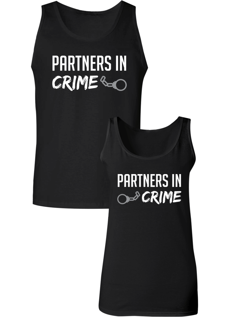Partners in Crime Couple Tanks