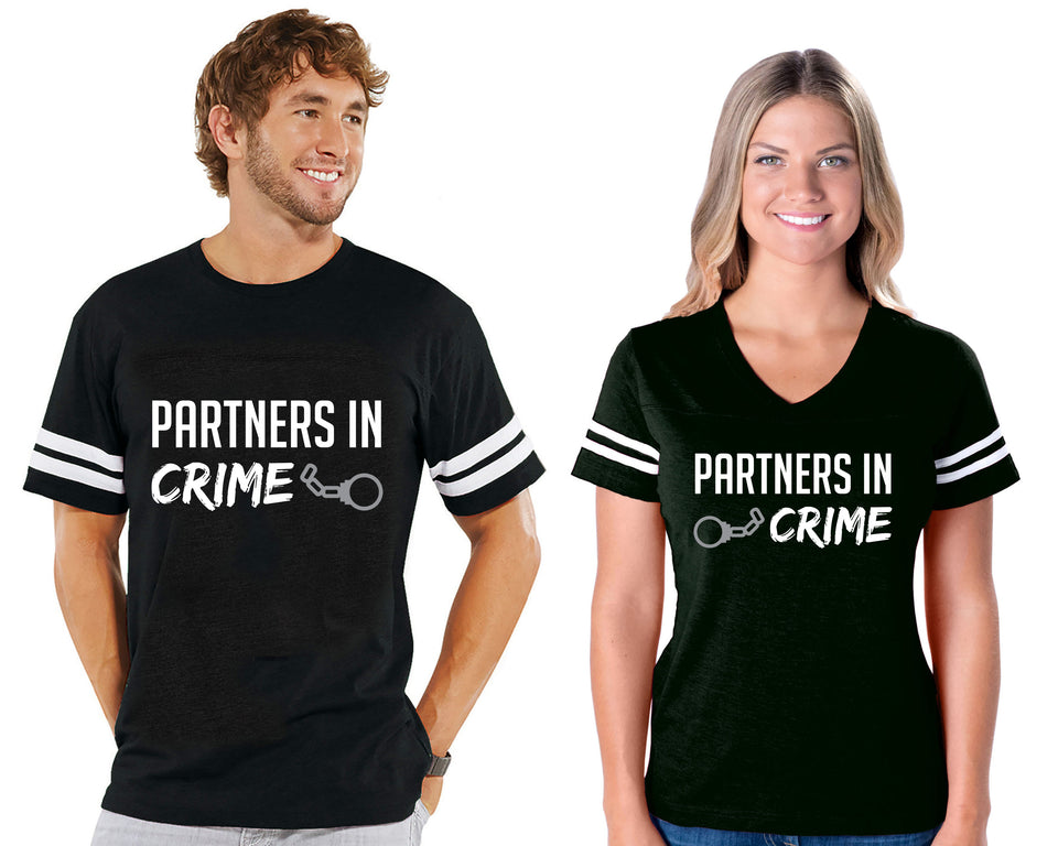 Partners in Crime - Couple Cotton Jerseys