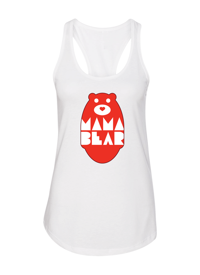 Mama Bear & Papa Bear - Couple Shirt & Racerback