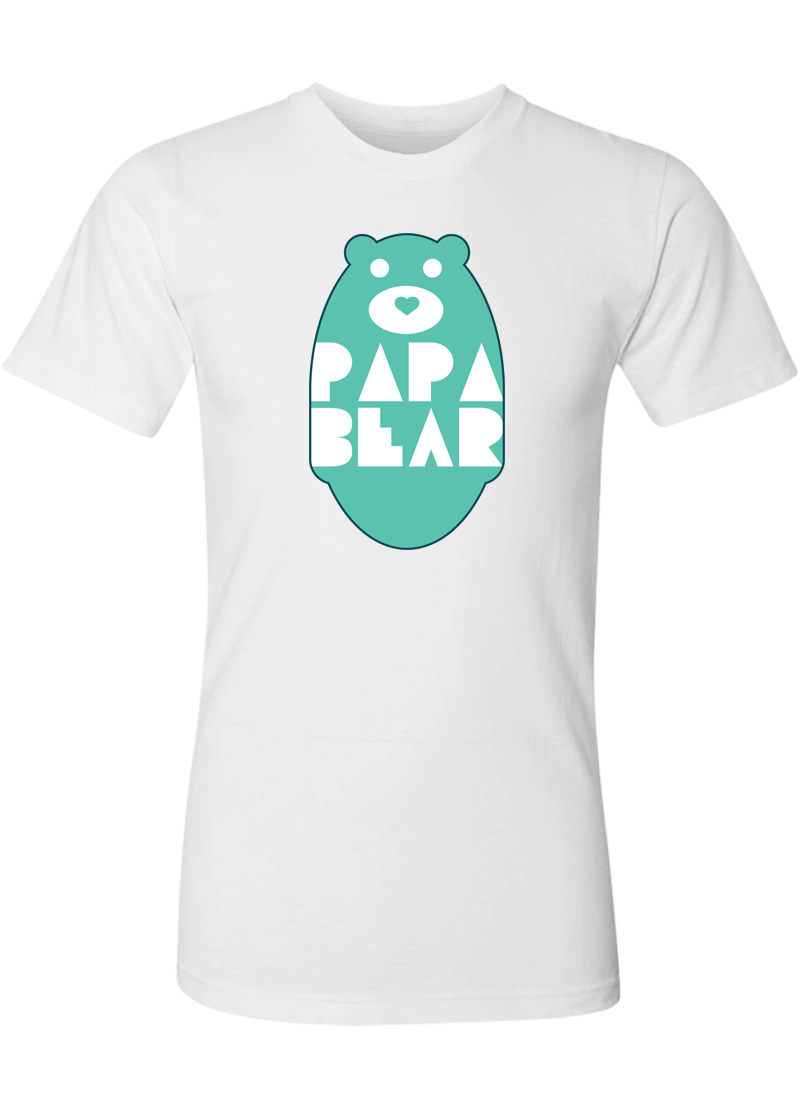 Mama Bear & Papa Bear - Couple Shirts