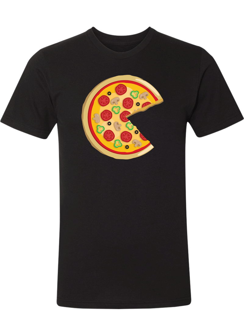 Piece Pizza & Slice - Couple Shirts