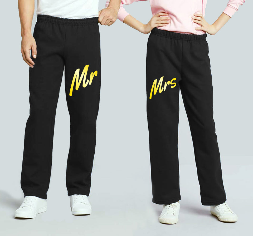 Mr. & Mrs. - Couple Matching Sweatpants