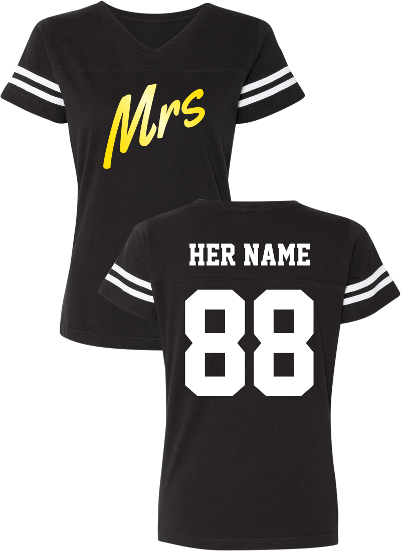 Mr. & Mrs. - Couple Cotton Jerseys