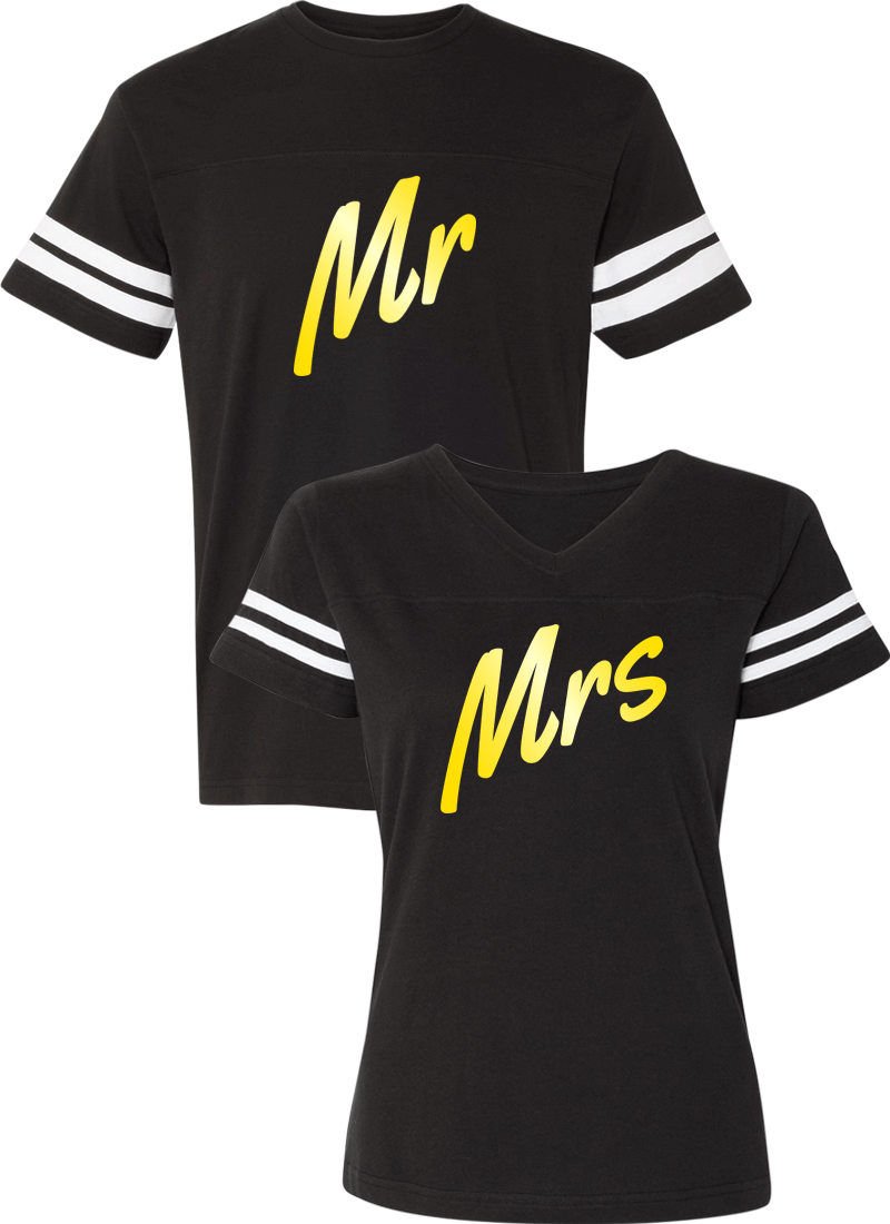 Mr. and Mrs. Couple Sports Jersey